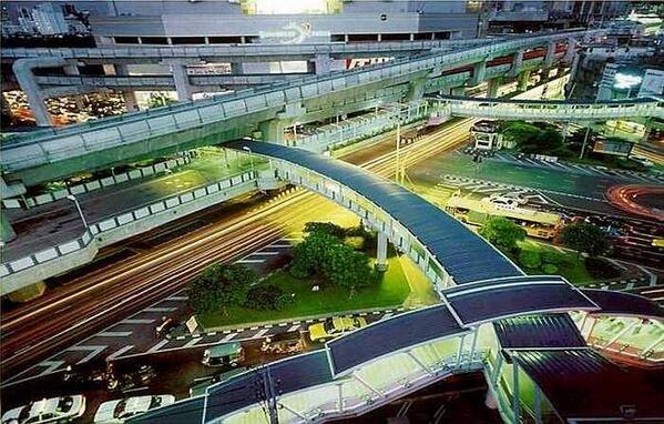 #Hyderabad Metro rail Beautiful Scenic view