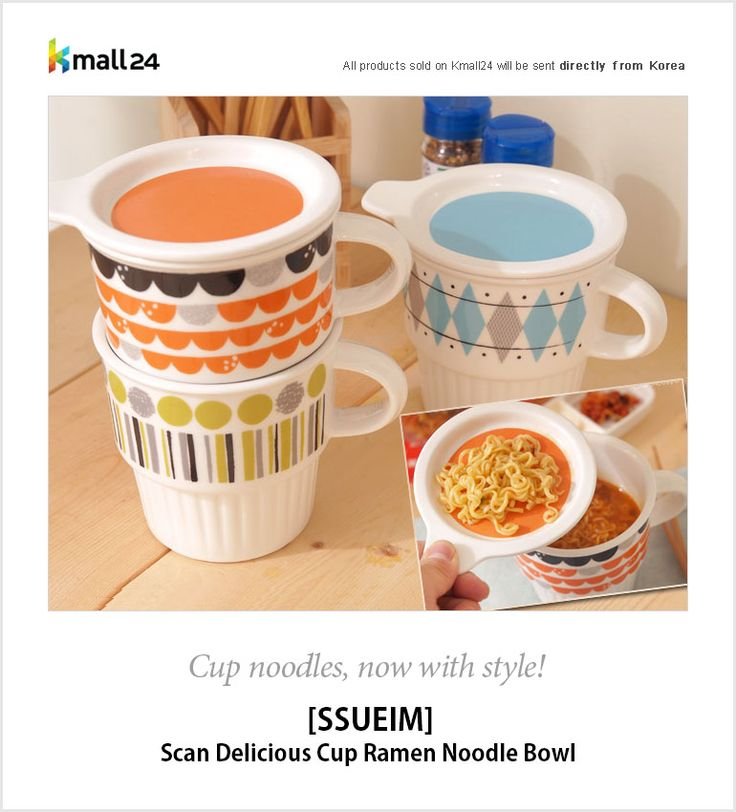 Now, you can literally enjoy cup-noodles!  I mean, noodles in a REAL cup!  Best of all, it comes with a very versatile cute lid!  ▶ Shop here : http://bit.ly/1Co40ON Kmall24 ‪#‎cupnoodles‬ ‪#‎mug‬ ‪#‎cupramen‬ ‪#‎ssueim‬