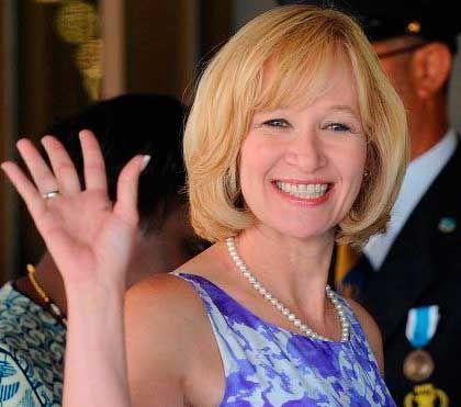 Жена президента Канады Лорин Харпер