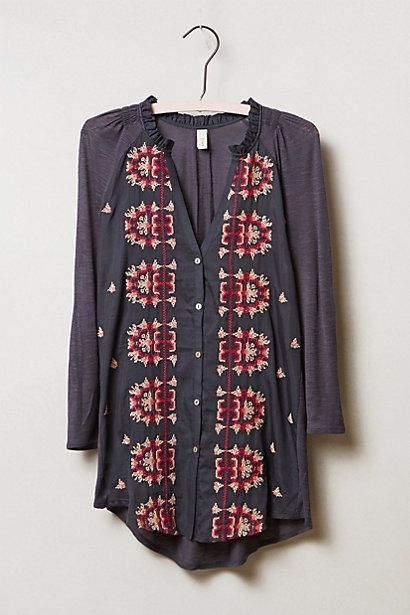 Miki Top #anthropologie saw this in person today in AZ. Love it.