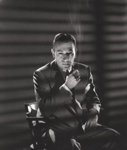 George Hurrell - George Raft (1939)