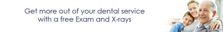 Free Exam and X-Rays | TenderCare Dental www.TenderCareDental.net  #OralHealth #Dentist #Tooth #Teeth #Smile #TeethWhitening #Cosmetic #Invisalign #Cavities #Crowns #Dentures #Healh #SelfConfidence #Portland #Oregon #Youth #EcoFriendly #Beaverton #Tigard #Banks #Gladstone