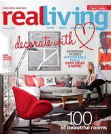 Love Mae in Real Living Jan/Feb/Mar/April 2012