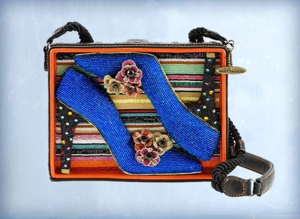 beaded embellished novelty handbags from designer mary frances