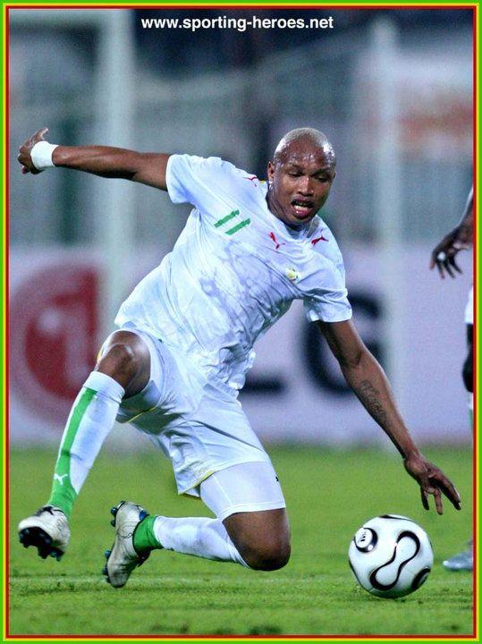 El Hadji Diouf - Senegal - Coupe d'Afrique des Nations 2006.