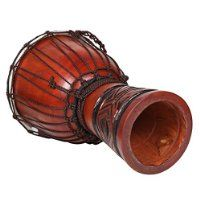 X8 Celtic Labyrinth Djembe Drum with Bag, Tambourine and Shakers