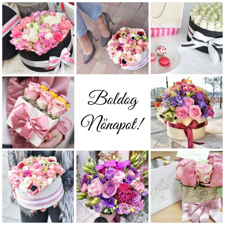 Nőnapi virágdobozaink