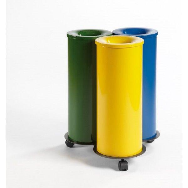 39 best reciclaje images on pinterest kitchens good - Contenedores de reciclar ...