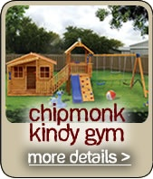 Chipmonk Kinder Gym    Love this cubby for all ages