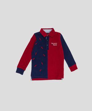 Harmont & Blaine Junior: polo blu e rosso, che allegria! www.privalia.com