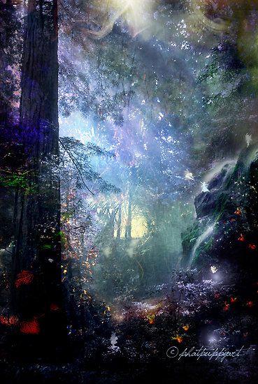 *+*Mystickal Faerie Folke*+*... Pixie Forest By Artist phatpuppyart...