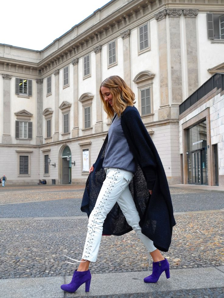#GEOXONTOUR with Facehunter Candela Novembre IT-GIRL of Grazia.it wearing Kali ankle boots.  Click through to discover more GEOX styles.