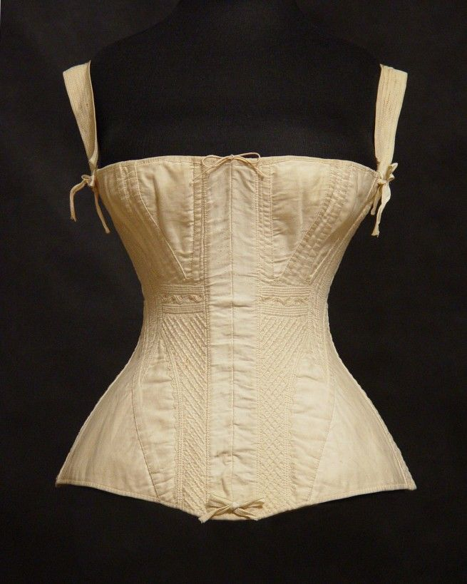 Corset 19th Century Pin by Russell Husted ...
