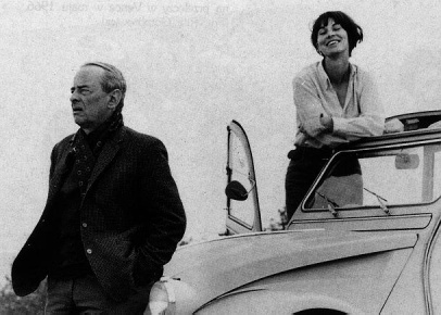 Witold Gombrowicz i Rita Labrosse, maj 1966