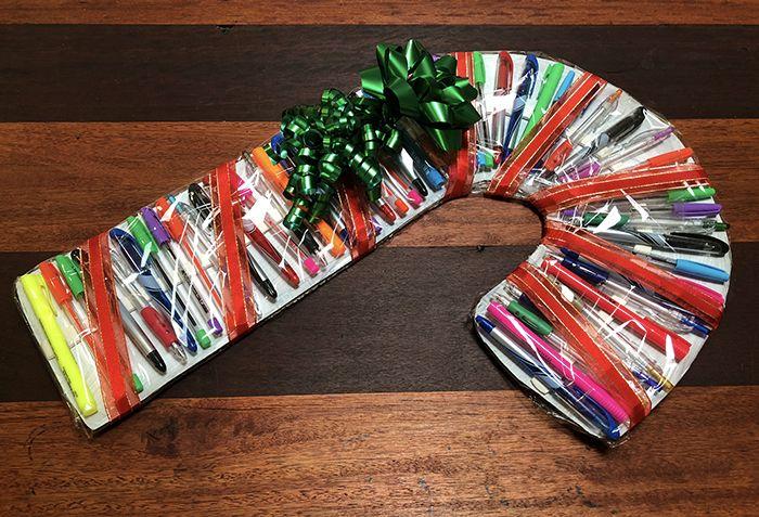 School Teacher gift idea - Pen Candy Cane!