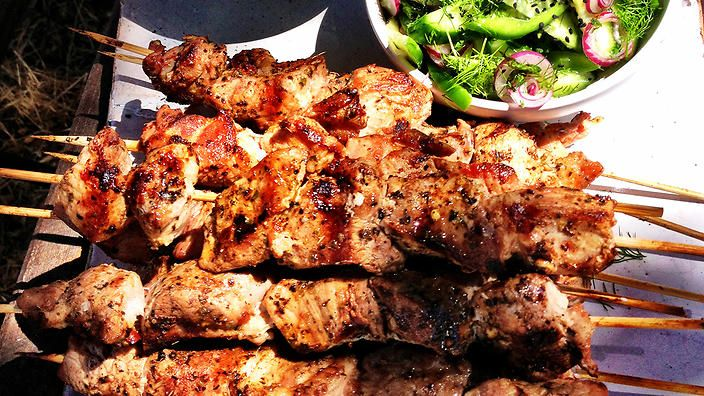 Souvlaki recipe | Greek food | SBS Food