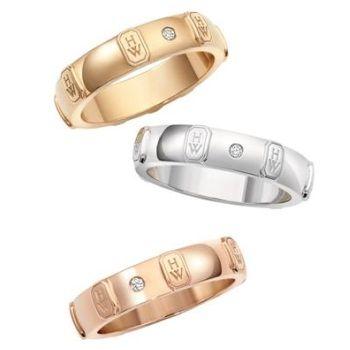 「HWロゴ・バンドリング」 ハリーウィンストンの結婚指輪・マリッジリング一覧。