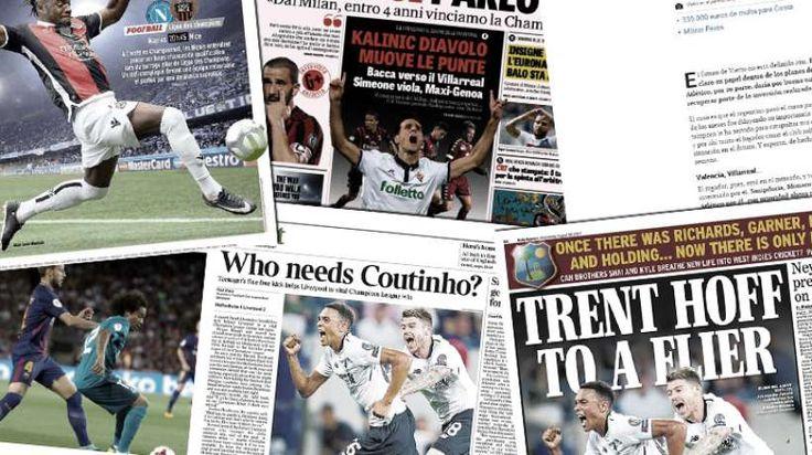 Monaco qui se penche sur le remplaçant de Mbappé, Liverpool qui veut attirer un joueur du Barça en échange de Coutinho ou encore un transfert record pour Everton, retrouvez dans votre revue de presse Foot Mercato les dernières informations de la (...)