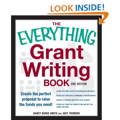 grant for writing a book Resource associates offers free grant writing services to qualified nonprofits, tribes and government agencies.