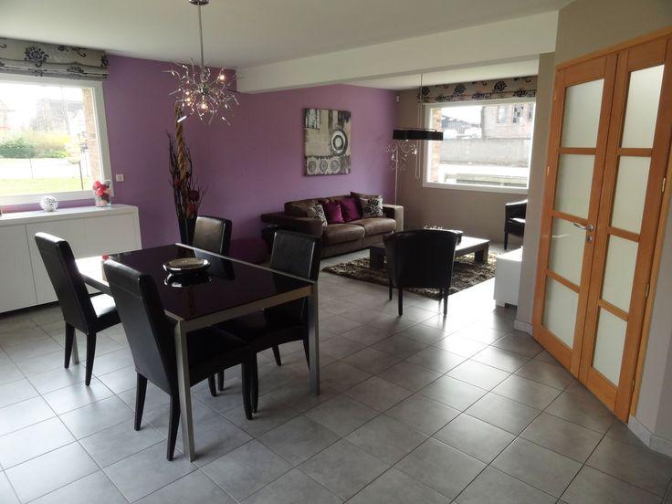 Espace à vivre salon et salle à manger de la maison témoin Maisons d'en France à Vermelles