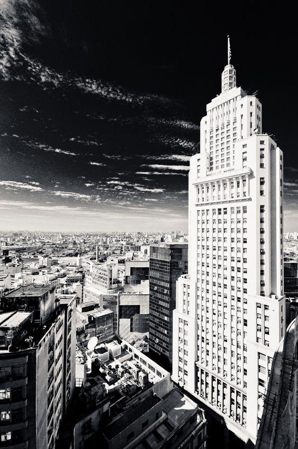 Prédio Banespa, São Paulo, Brazil Skyscraper by André Landin, via 500px