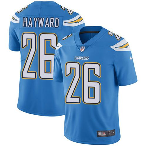 Colts Peyton Manning jersey Nike Chargers #26 Casey Hayward Electric Blue Alternate Men's Stitched NFL Vapor Untouchable Limited Jersey Joe Namath jersey NFL Jerseys SALES 2017