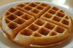 waffles with club soda and bisquick