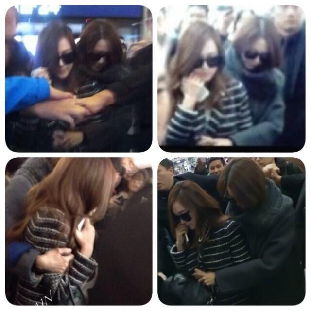 Snsd - Yoona & Jessica #Yoonsic #airport