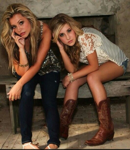 Maddie and Tae. I just discovered them and I really like their music:D