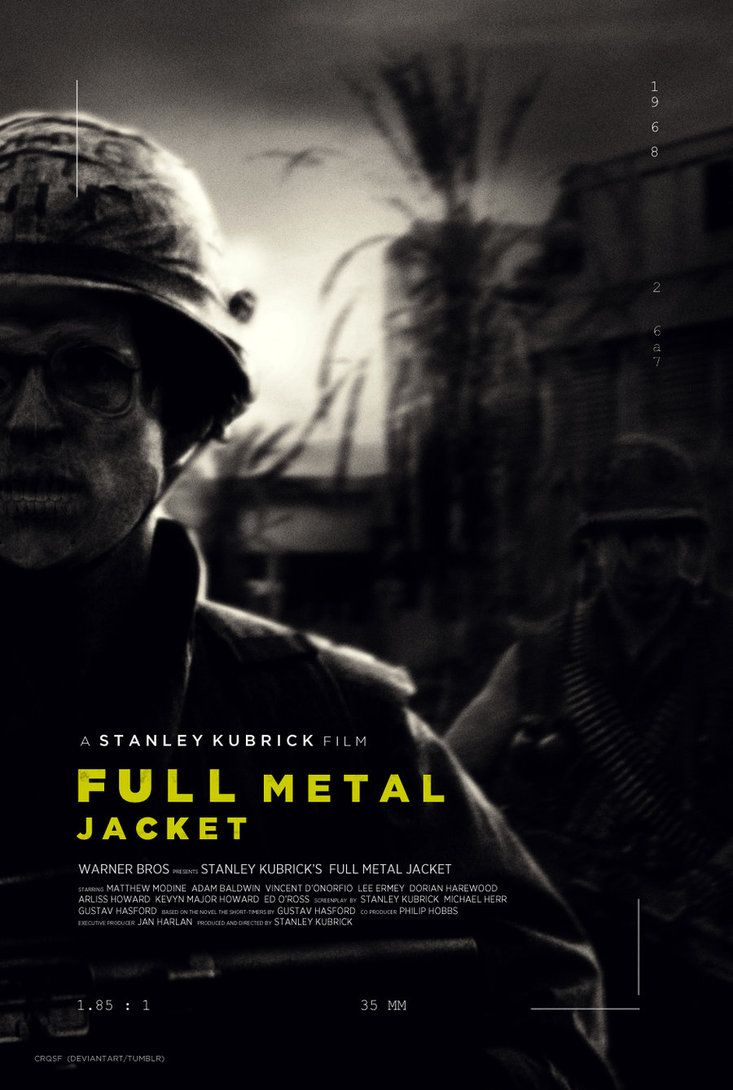 Full Metal Jacket - movie poster - crqsf.deviantart.com