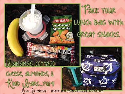 Teacher Lunch & Snack Ideas - These are quick snacks to grab between classes or on my prep period.