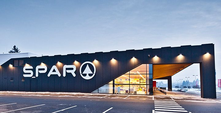 spar supermarket design