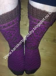 Bilderesultat for strikke sokker