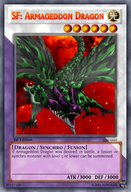 Synchro Fusion Monster Yugioh Pinterest
