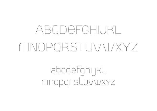 Font project by LLIWELL , via Behance