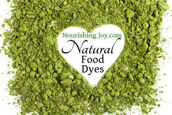 How to Make Natural Food Dyes | NourishingJoy.com