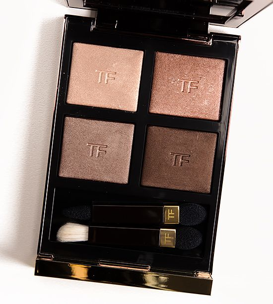 Tom Ford Nude Dip Eyeshadow Quad Tom Ford Nude Dip Eyeshadow Quad ($79.00 for 0.21 oz.) contains four shades of warm-leaning neutrals that go from golden c