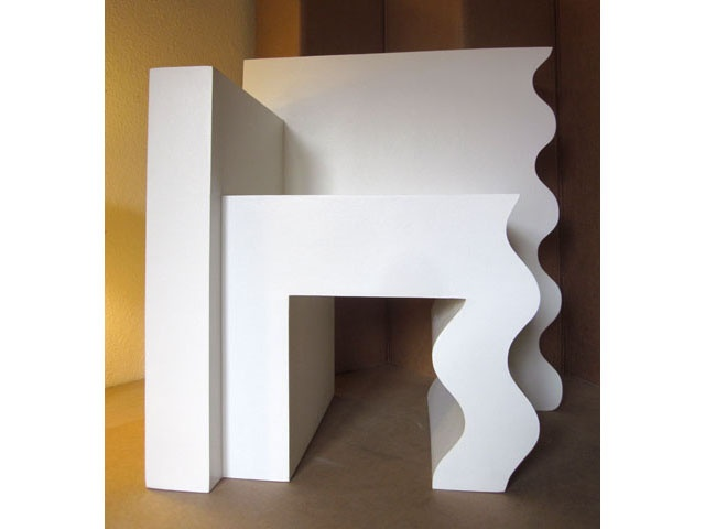 armchair made of cardboard