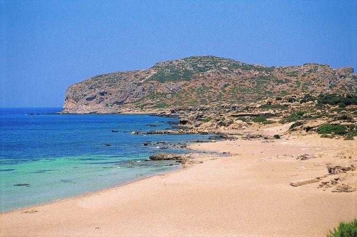 Falarsana beach #Crete #Chania