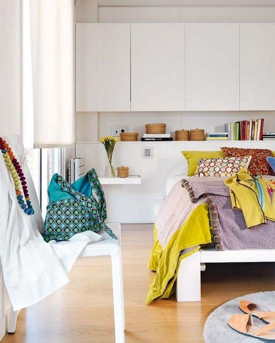 Красочный дизайн интерьера небольшой квартиры - Дизайн интерьеров | Идеи вашего дома | Lodgers