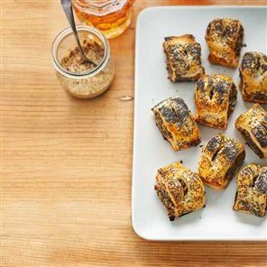 Haggis sausage rolls Recipe | delicious. Magazine free recipes