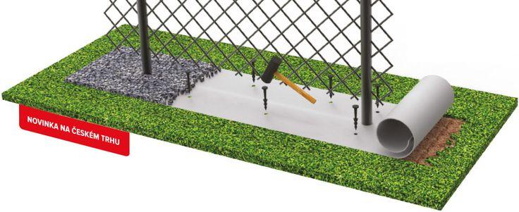 • má jednoduchú inštaláciu a môžete použiť pri nových i starších plotov všetkých druhov