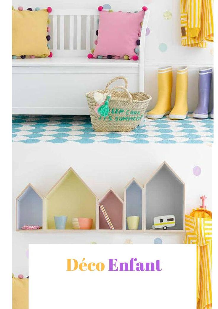 Tout plein d'idées déco pour votre enfant. Des petits objets que votre enfant va adorer, aux meubles, bureau, lit d'enfant et berceau... Trouvez l'inspiration pour bien décorer votre chambre d'enfant.