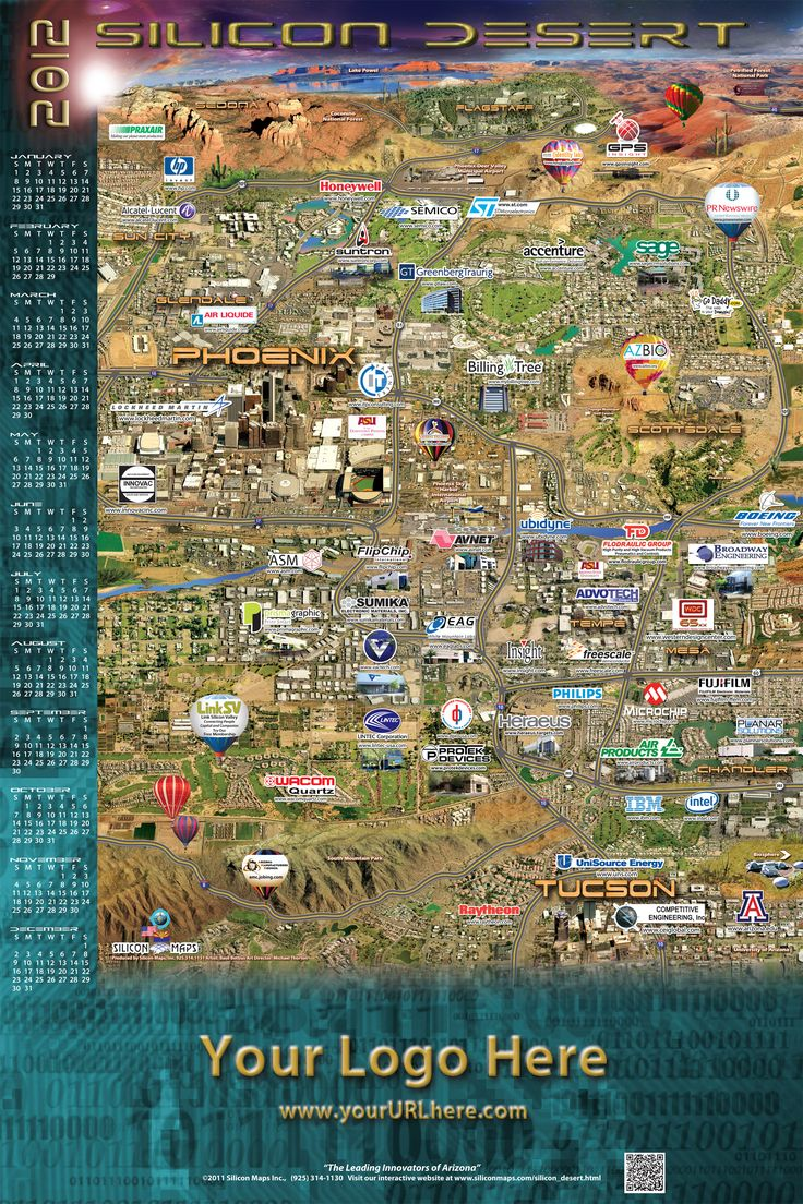 Silicon Desert Map 21 best Silicon Maps