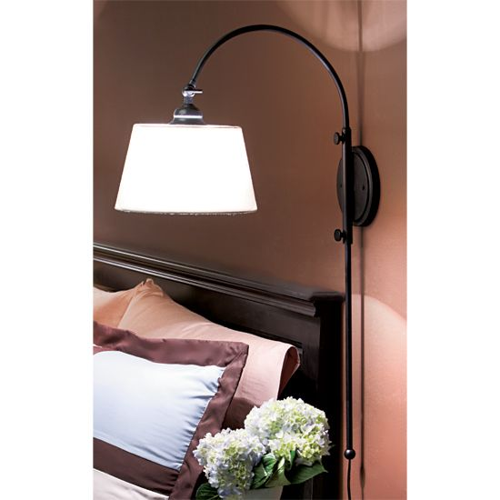 copy cat chic chic for cheap pottery barn arc sconce i bought these bedroom wall