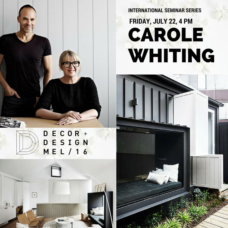 Carole Whiting From Interiors Will Be Speaking At The D Intl Melbourne