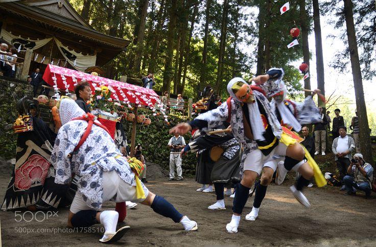 Dance of the dedication by k_ishikawa