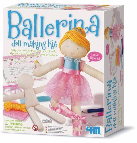 Doll Making Kit--Ballerina TJBs