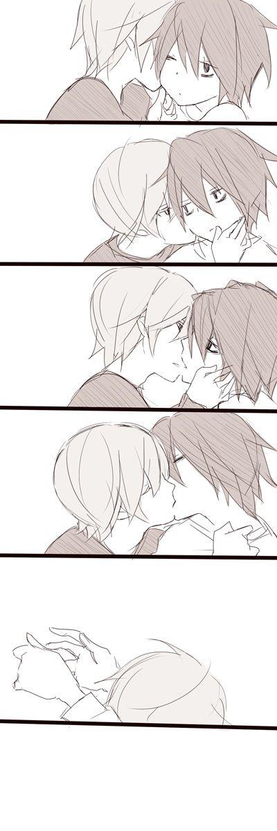 月Lまとめ [7]   Pixiv   Death Note   L   Lawliet   Light Yagami   Kira   L x Light   Kiss   Yaoi   Panels