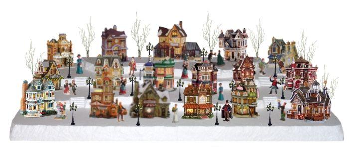 Lemax Christmas Village Four Tier 60 Inch Display Platform village ...